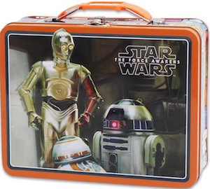 R2-D2, C-3PO And BB-8 Metal Lunch Box