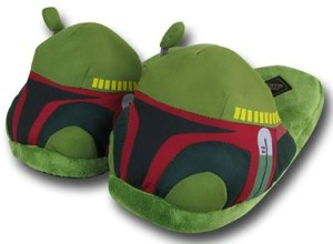Stuffie Boba Fett Slippers