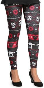 The Dark Side Ugly Christmas Leggings