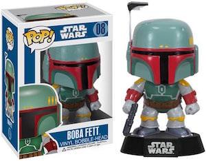 Boba Fett Pop! Bobblehead Figurine