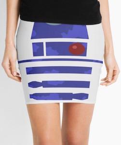 R2-D2 Pencil Skirt