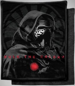 Kylo Ren Fleece Blanket