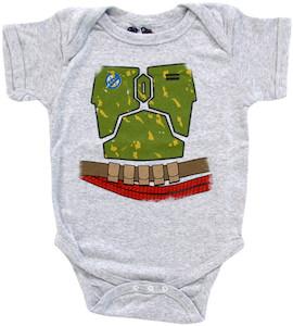 Boba Fett Baby Bodysuit