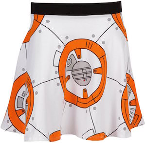 BB-8 Skater Style Skirt