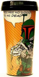 Star Wars Boba Fett Travel Mug for sale