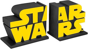 Star Wars Logo Bookends