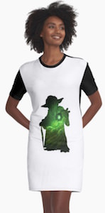 Yoda's Galaxy Women's Dress