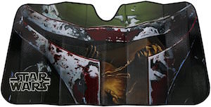Boba Fett Car Sun Shade