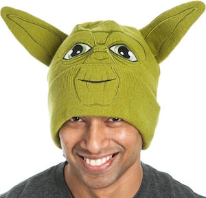 Yoda Beanie Hat With Ears