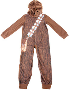 Kids Chewbacca One Piece Pajama