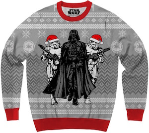 Darth Vader And Stormtroopers Ugly Christmas sweater