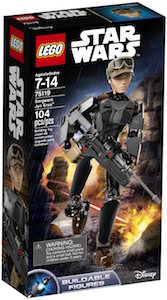 LEGO Star Wars Jyn Erso Buildable Figures 75119