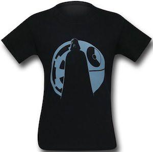 Star Wars Darth Vader Logo And Death Star T-Shirt