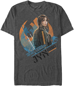 Rebel Leader Jyn Erso T-Shirt