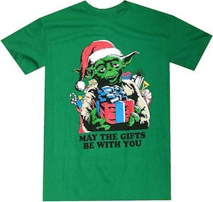 Yoda May The Gifts Be With You T-Shirt