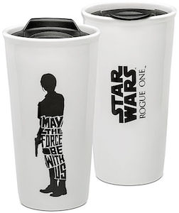 Jyn Erso Rogue One Ceramic Travel Mug