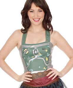 Star Wars Women's Boba Fett Costume Top