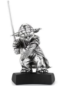 Star Wars Yoda Pewter Figurine