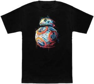 Grafitti Style BB-8 T-Shirt