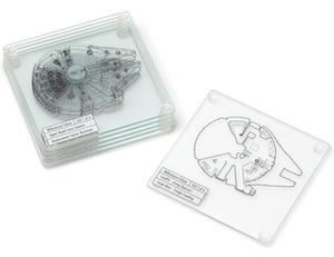 Millennium Falcon Coaster Set