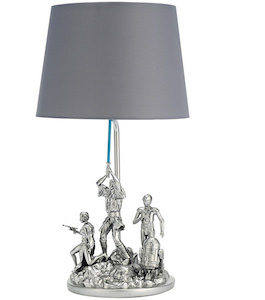 Pewter A New Hope Lamp