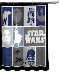 The World Of Star Wars Shows Curtain