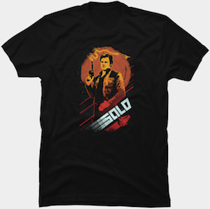 Smoking Gun Han Solo T-Shirt