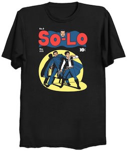 Solo Comic T-Shirt