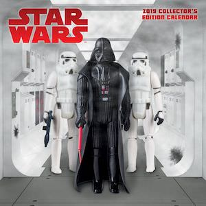 2019 Star Wars Toys Wall Calendar