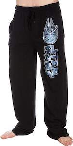 Star Wars Logo Millennium Falcon Pajama Pants