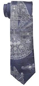 Millennium Falcon Neck Tie