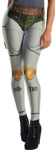 Boba Fett Costume Leggings