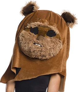 Ewok Head Costume Mask