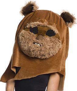 Ewok Head Costume Mask