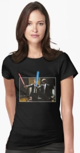 Lightsaber Pulp Fiction T-Shirt