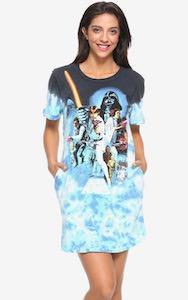 Star Wars Tie-Dye T-Shirt Dress