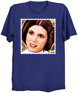 Princess Leia Stamp T-Shirt