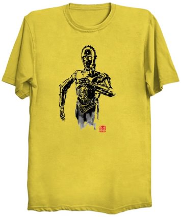Yellow C-3PO T-Shirt