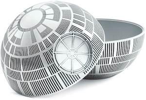 Death Star Pewter Storage Bin