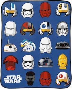 Star Wars Helmets Blanket