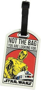 Classic Droids Luggage Tag