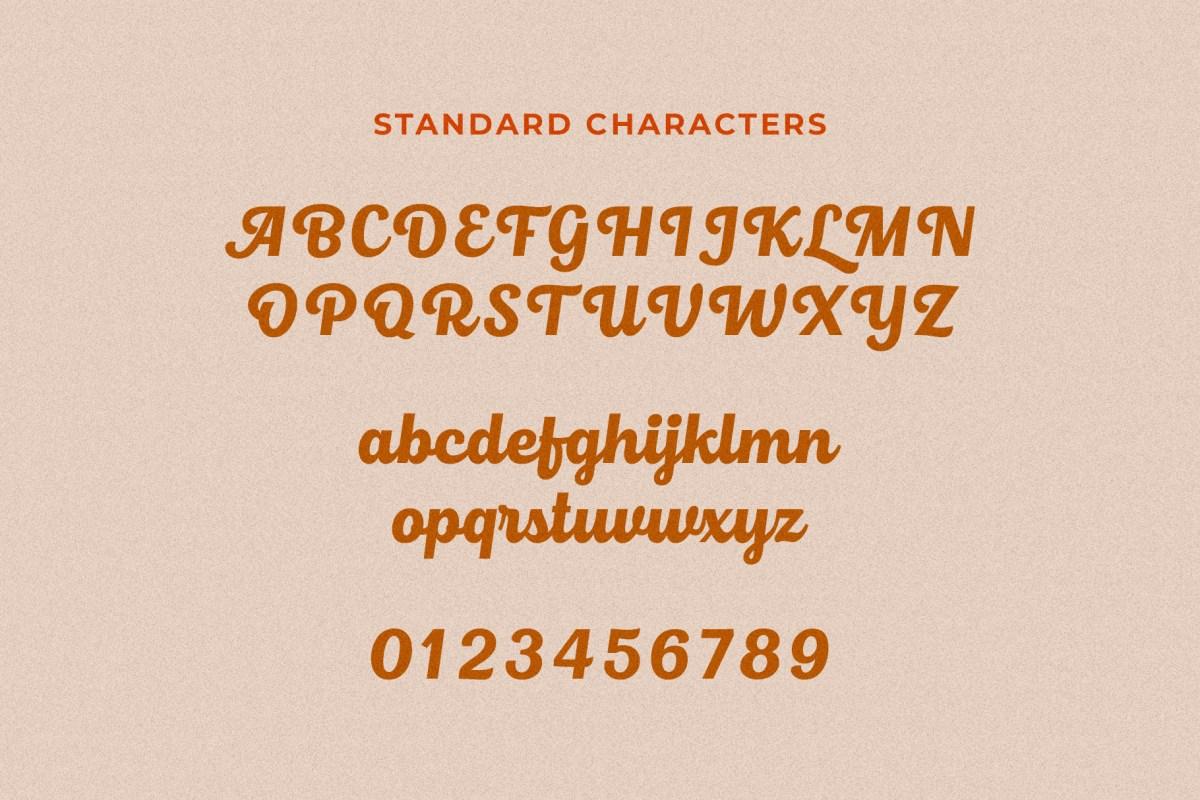 Roshelyn Typeface