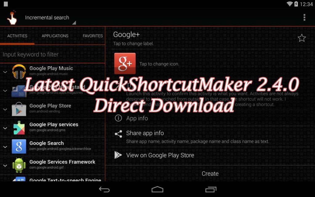 QuickShortcutMaker 2.4.0 Direct Download