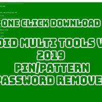 Android Multi Tools v1.02b 2019 PIN/Pattern/Password Remover