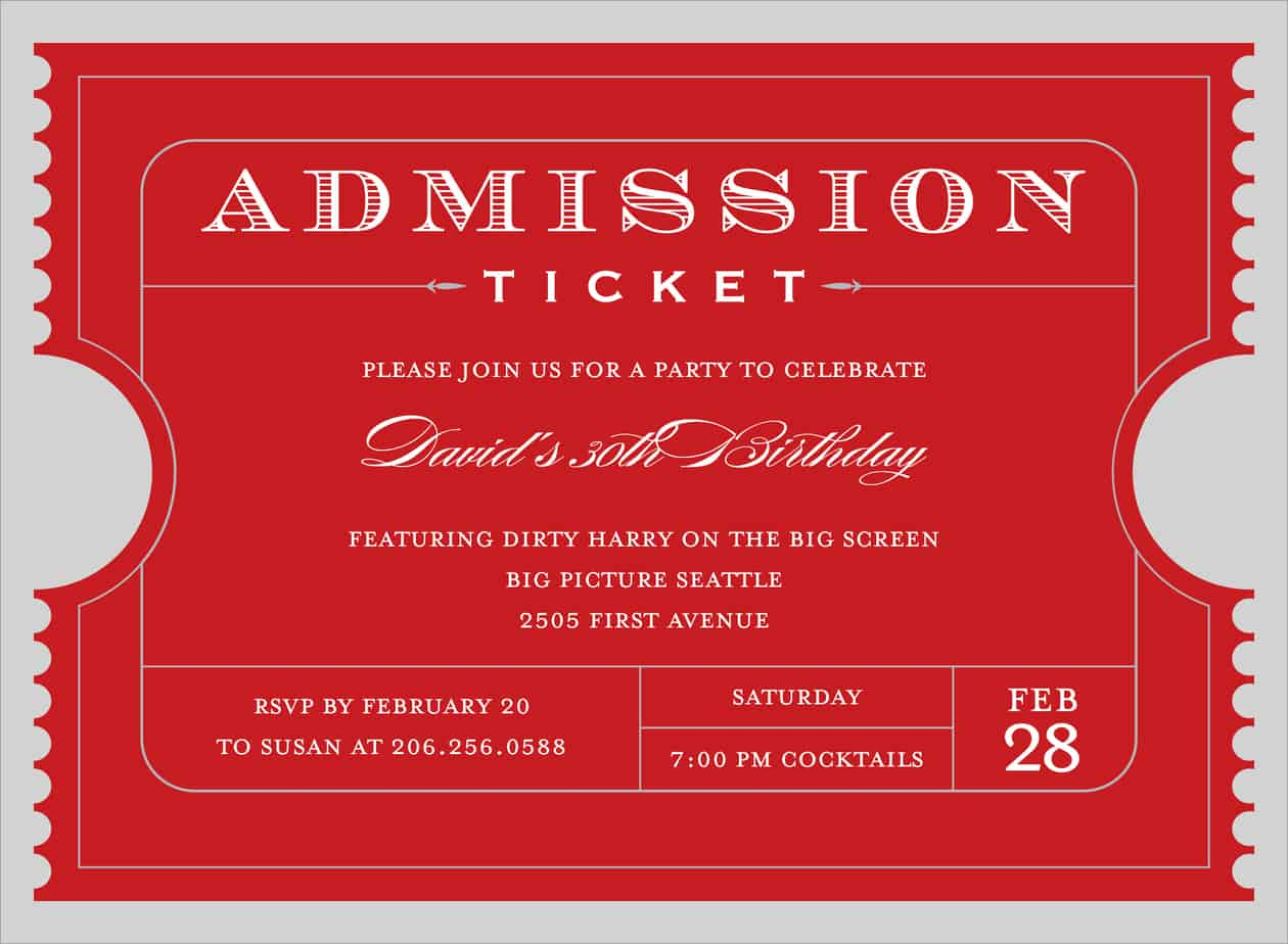 Ticket Template Word event ticket template free download word – Event Ticket Ideas