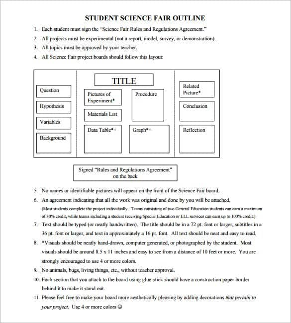 project outline template 44