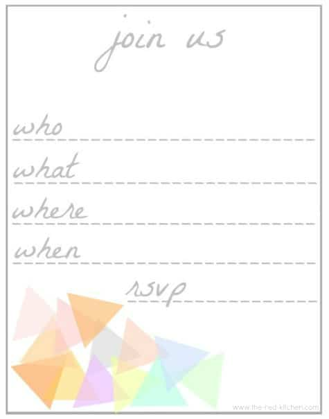 printable invitation 22
