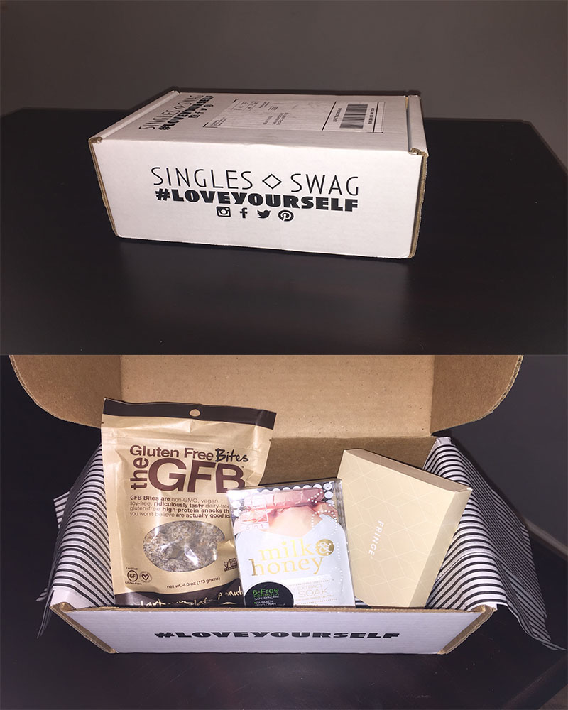 singles swag collage - Singles Swag: Subscription Box Review