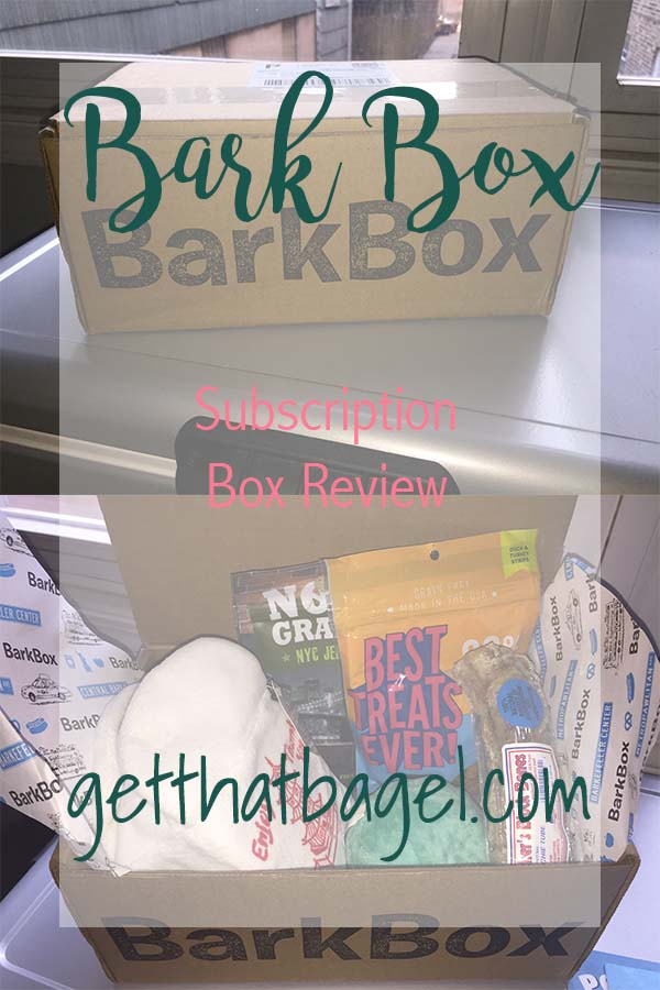 Bark Box: Subscription Box Review