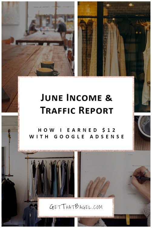 June 2017 Income and Traffic Report on Get That Bagel